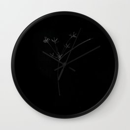 Meditation on Violence Wall Clock