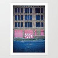 Pink Promises Art Print