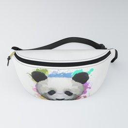 Splash Color Panda Fanny Pack