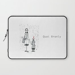 A Few Parisians by David Cessac: Quai Branly Laptop Sleeve