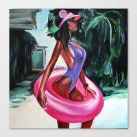 baloon Canvas Prints featuring Baloon by Sasha Robinson