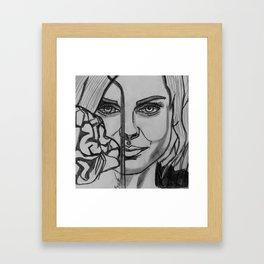 Got brains? x2 Framed Art Print