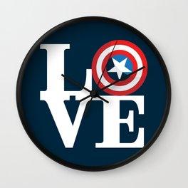 Captain's Love Wall Clock