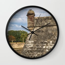 Castillo de San Marcos Wall Clock