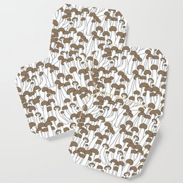 Beech Mushrooms Coaster