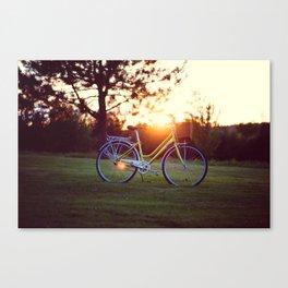 Summer Lovin' Bicycle Canvas Print