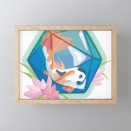 Koi D20 Framed Mini Art Print