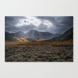 Fall Colors on La Plata Peak Canvas Print