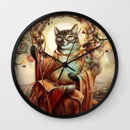 Jizo Bodhissatva Wall Clock