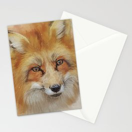 The Red Fox Stationery Cards