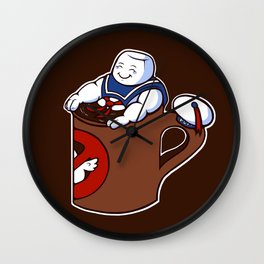Cup of Stay Puft Wall Clock
