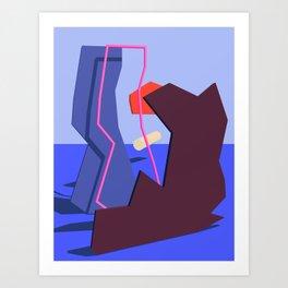 Spaces VI Art Print