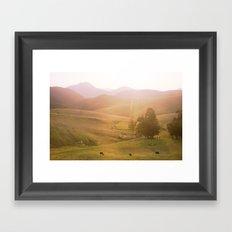 Coast 2 Framed Art Print