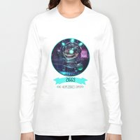 league of legends Long Sleeve T-shirts featuring League Of Legends - Ziggs by TheDrawingDuo