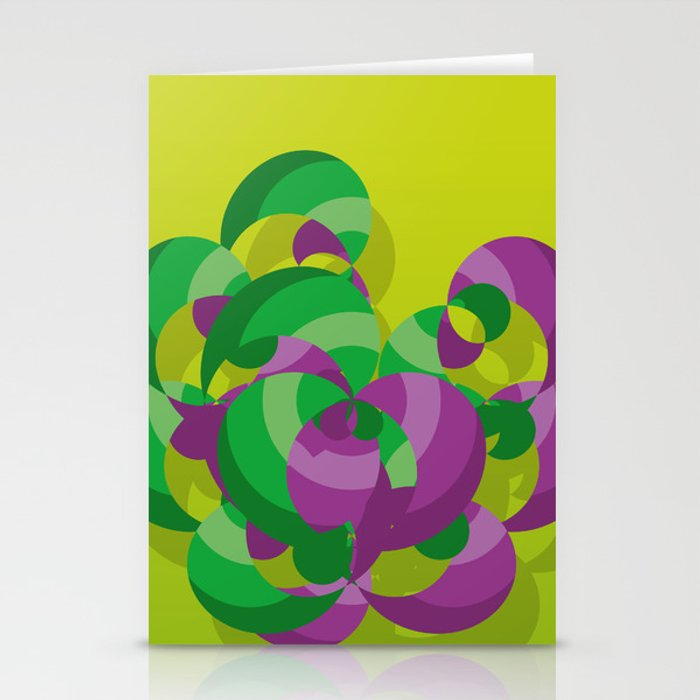 Organic Chaos Stationery Cards