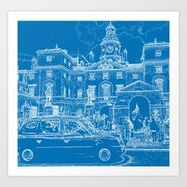 Horse Guards Art Print