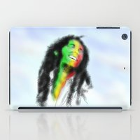 marley iPad Cases featuring Marley in the Sky by Andre Ferraz digital & Fine Art