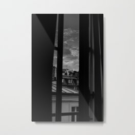 Noir Paris II Metal Print