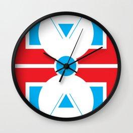 Geometric Calendar - Day 37 Wall Clock