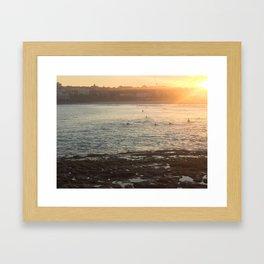 Bondi Sundowners Framed Art Print