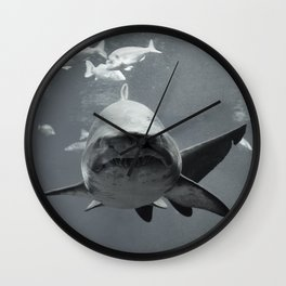 Shark Intense Wall Clock
