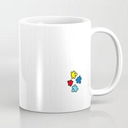Non Verbal Autism Awareness Mom Elephant Love Needs No Words T-Shirt Coffee Mug