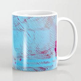 MEMORY MOSH - Glitch Art Print Coffee Mug