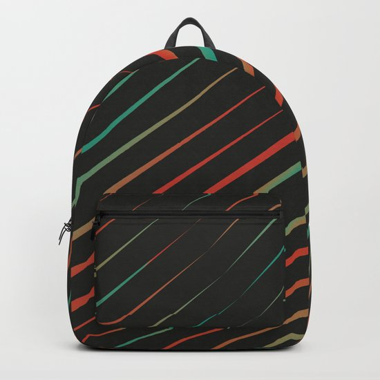 Turquoise vs Red Backpack