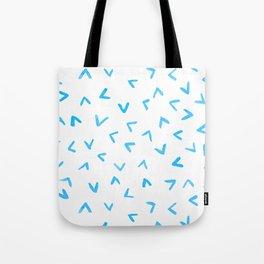 Watercolor Rain Tote Bag