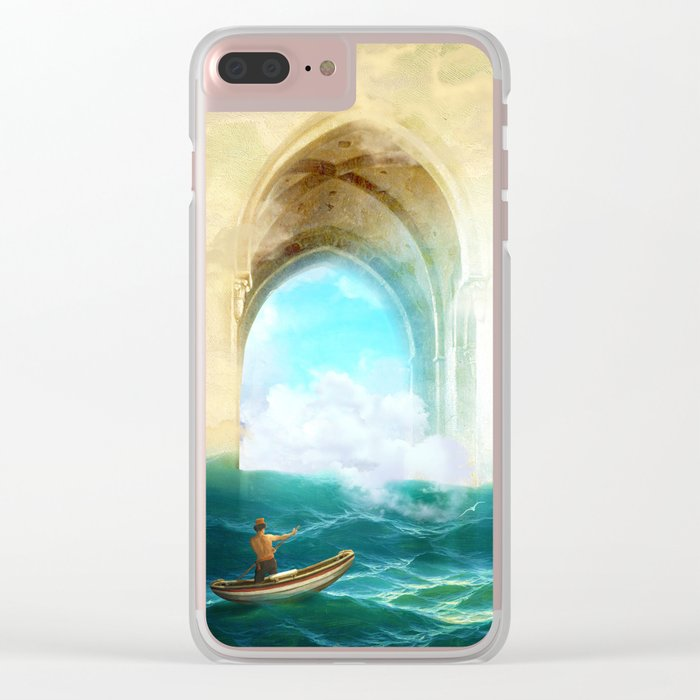 The Veil of Mists Clear iPhone Case
