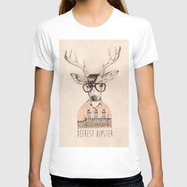 Deerest hipster T-shirt