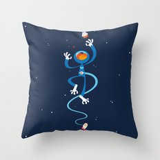 Space Drama Throw Pillow