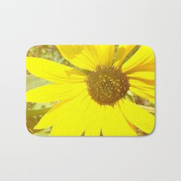 sunflower beauty  Bath Mat