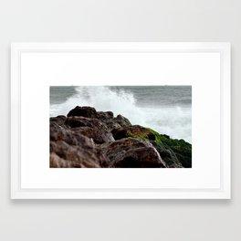 Surf and Spray Framed Art Print