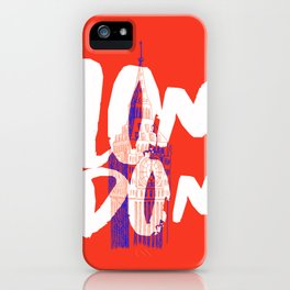 Place: London iPhone Case