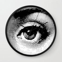 Lina Cavalieri - left eye Wall Clock