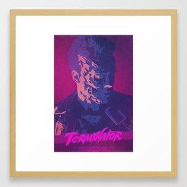 Extermination - Terminator Poster Framed Art Print
