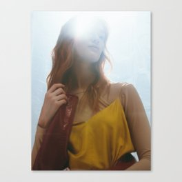 Woman in Light Canvas Print