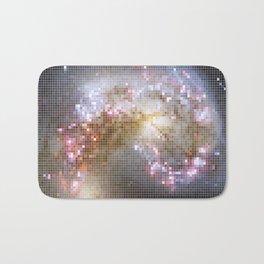 Pixel Nebula Bath Mat