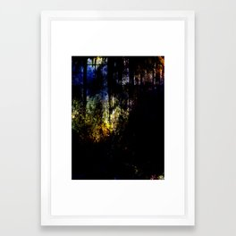 Stained Framed Art Print