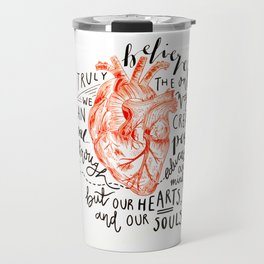 Humanitarian Heart Travel Mug