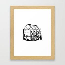 A Little House of Love Framed Art Print