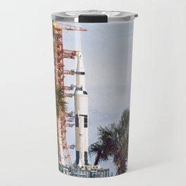 Apollo 8 - Tropical Launch Pad Florida Travel Mug