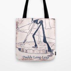 Daddy Long Legs Tote Bag