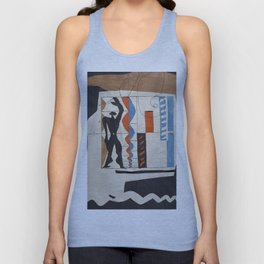 The Modulor Sketch by Le Corbusier Unisex Tank Top