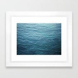 """Travel photography """"Blue ocean waves""""   Fine art Photo Print   Modern Wall art   Wanderlust Ibiza Framed Art Print"""