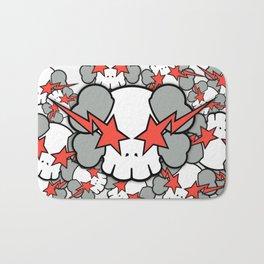 KAWS - Star Skull WallDevil Bath Mat