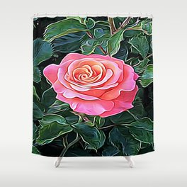 Trembling Flower of Enchantment Shower Curtain