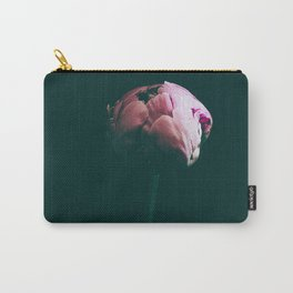 Raspberry Peony Carry-All Pouch