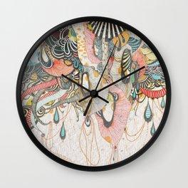 Mind-drawing Doodling Art Wall Clock